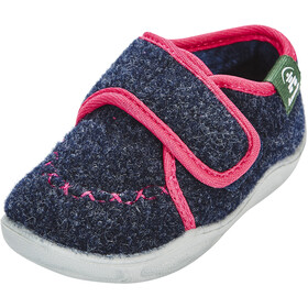 Kamik Cozylodge Shoes Kids navy/magenta-marine/magenta